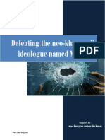 Defeating the Neo-Khawaarij Ideologue Named Maududi