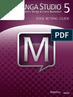 MangaStudio 5.0.2 Tool Setting Guide