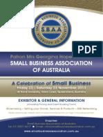 SBAA 2013 Exhibitor Info FINAL