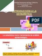 Introduccion a La Estadistica (epidemiologia)