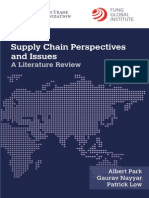 WTO - Supply Chain Perspectives and Issues