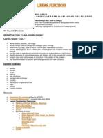 linear functions module