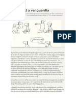 Ferocidad y Vanguardia - Diego Manso