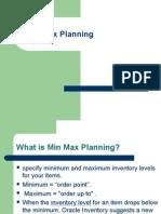 Min Max Planning