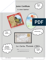 postcard booklet