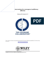 Scheiman Non-Surgical Interventions for CI Cochrane Review 2011