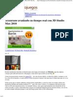 Texturado Avanzado en Tiempo Real Con 3D Studio Max 2010 _ Xix Games Studios