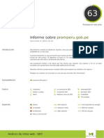 SEO Analisis- Promperu