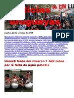 Noticias Uruguayas Martes 22 de Octubre Del 2013