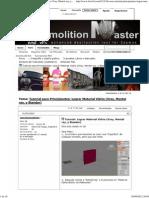 Tutorial Para Principiantes_ Lograr Material Vidrio (Vray, Mental Ray, y Standar)