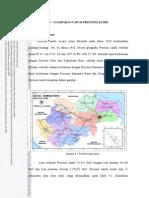 Gambaran Umum Provinsi Jambi
