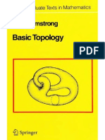Basic Topology - A. Armstrong