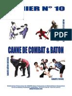 Cahier 10 Canne Combat Baton