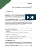 7.0 Plan de Congestión o restricción Temporal