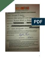 Doug Gansler 2013 MSEA Survey Responses