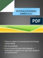 power INTERACCIONISMO SIMBÓLICO