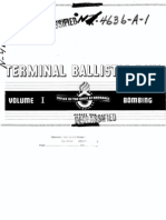 Office of the Chief of Ordnance - Terminal Ballistic Data - Volume 1 - Bombing (August 1944)