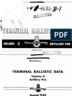 Office of the Chief of Ordnance - Terminal Ballistic Data - Volume 2 - Artillery Fire (August 1944)