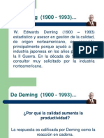 De Deming  (1900 - 1993)