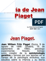 Teoría de Cognitiva de Piaget Expos. 15-10-13