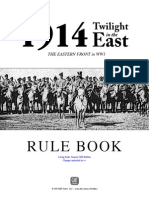1914 Twilight in the East Rulebook