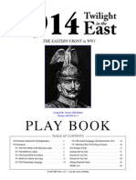 1914 Twilight in the East Playbook