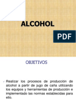 Produccion de Alcohol