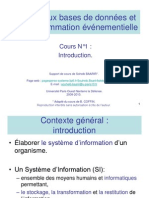 Cours 0 Elements d Algebre Relationnelle