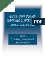 Competencias y SGC ISO9001