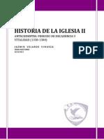 Historia de La Iglesia II-Deber1
