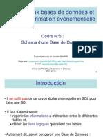 Cours 5 BDR Schema BD