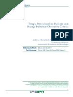 Terapia Nutricional No Paciente Com Doenca Pulmonar Obstrutiva Cronica Projeto Diretrizes