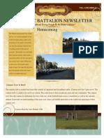 Battalion Newsletter