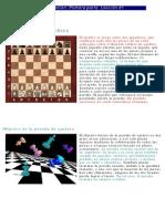 iniciación en el ajedrez. El tablero