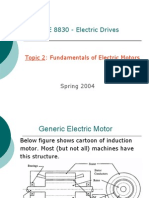 Fundamentals of Electric Motors