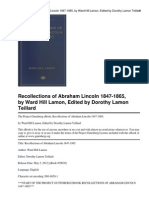 Recollections of Abraham Lincoln.pdf