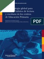 Una estrategia global para fomentar hábitos de lectura y escritura en los centros de Educación Primaria