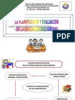 LA PLANIFICACIÓN EN EDUCACIÓN PRIMARIA