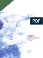Pedro García Cabrera. Antología