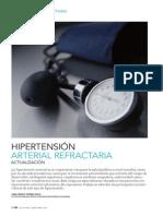 Hipertensión arterial refractaria