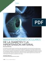 Manifestaciones oculares de la diabetes y la hipertensión arterial. Retinopatías