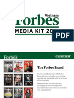 2013 Forbes Vietnam Media Kit