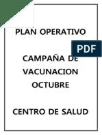 PLAN DE CAMPAÑA DE VACUNACION