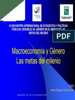 Macroeconomia y Genero