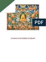 Seventeen Great Panditas of Nalanda - Dalai Lama