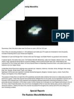 UFO - Filer's Files #26 - 2012 Mothership Monoliths