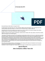UFO - Filer's Files #41 - 2012