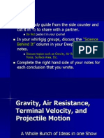 Gravity and Free Fall (3)