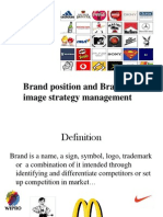 Brand Position and Brand Image Strategy Management