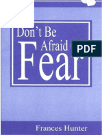 Don't Be Afraid of Fear